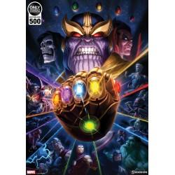 Sideshow Thanos Guantelete del Infinito Art Print