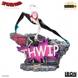 Estatua Spider-Gwen. Un Nuevo Universo Iron Studios