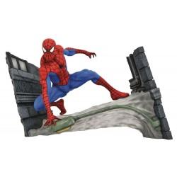Estatua Spider-Man Webbing Marvel Comic Gallery