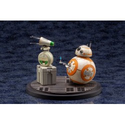 Pack de 2 Estatuas Star Wars Episodio IX D-O & BB-8 Artfx+ PVC Kotobukiya