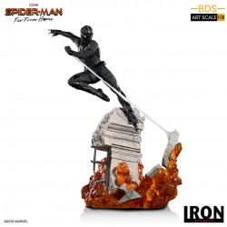 Estatua Night-Monkey. Spider-Man Far from Home Iron Studios