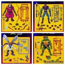 Figuras Tortugas Ninja Ultimates Super7