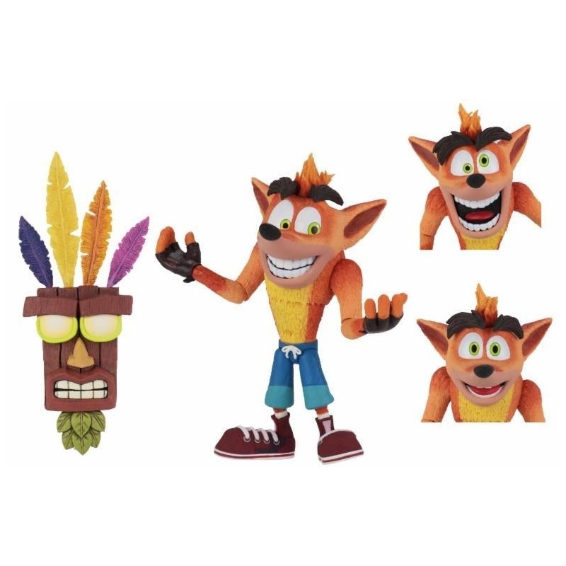 Figura Crash Bandicoot Ultra Deluxe Neca