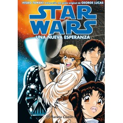 Star Wars Manga Episodio IV Una Nueva Esperanza Planeta Cómic