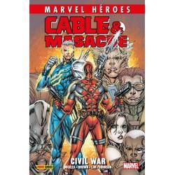Cable & Masacre 2. Civil War (Marvel Héroes 97)