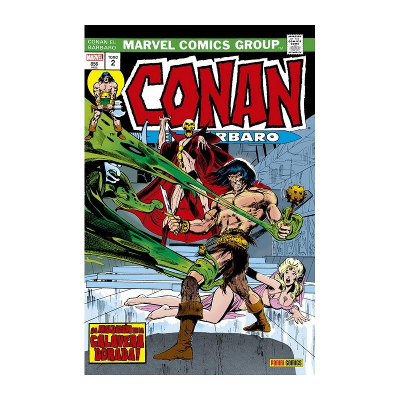 Conan el Bárbaro. La Etapa Marvel Original 2. ¡La Maldición de la Calavera Dorada! (Marvel Omnibus)