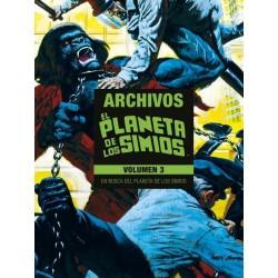Planeta de los Simios Archivos 3 Marvel Limited Edition Panini Comics