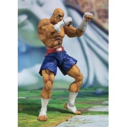 Figura Sagat Street Fighter V SH Figuarts Bandai
