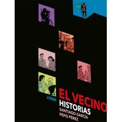 El Vecino. Historias Negro Astiberri