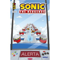 Sonic The Hedgehog 7 ECC Comics