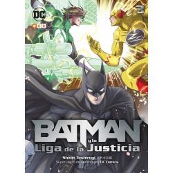 Batman y la Liga de la Justicia 3 DC Comics ECC Ediciones Renacimiento
