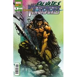 Salvajes Vengadores 3 Panini Comics Marvel