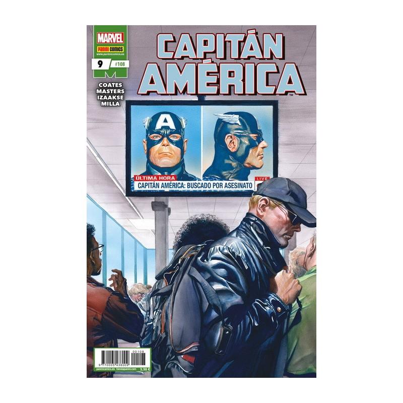Capitán América 9 / 108 Panini Comics