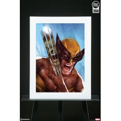 Marvel: El Increíble Hulk vs Lobezno Art Print Sideshow