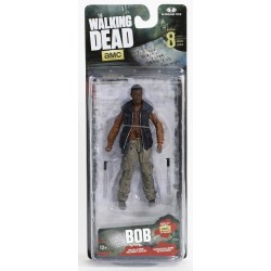 Imagén: The Walking Dead. Figura de Acción de Bob Stookey (Series 8)