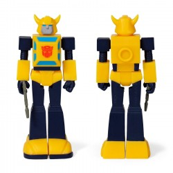Figura Bumblebee Transformers ReAction Super7