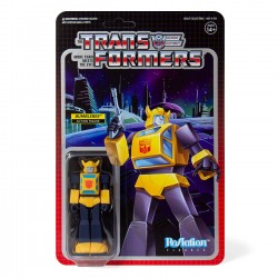 Figura Bumblebee Transformers ReAction Super7