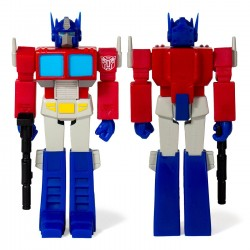 Figura Optimus Prime Transformers ReAction Super7