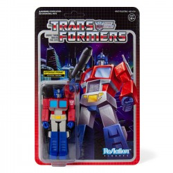 Figura Optimus Prime Transformers ReAction Super7