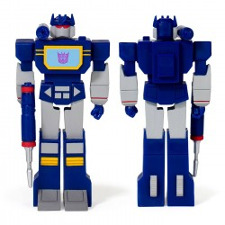 Figura Soundwave Transformers ReAction Super7
