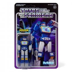 Figura Soundwave Transformers ReAction Super7