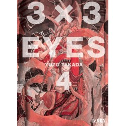 3 X 3 Eyes 4 Manga Ivrea