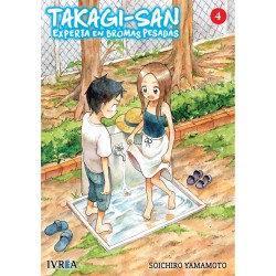 Takagi-San Experta en Bromas Pesadas 4 Manga Ivrea