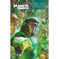 Green Lantern / El Planeta de los Simios ECC Comics