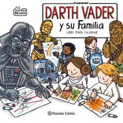 Star Wars. Darth Vader y su familia. Libro para Colorear