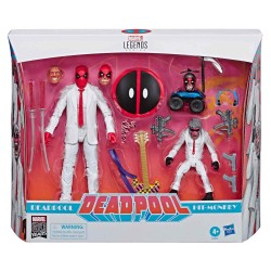Figura Deadpool y Hit Monkey Marvel Legends