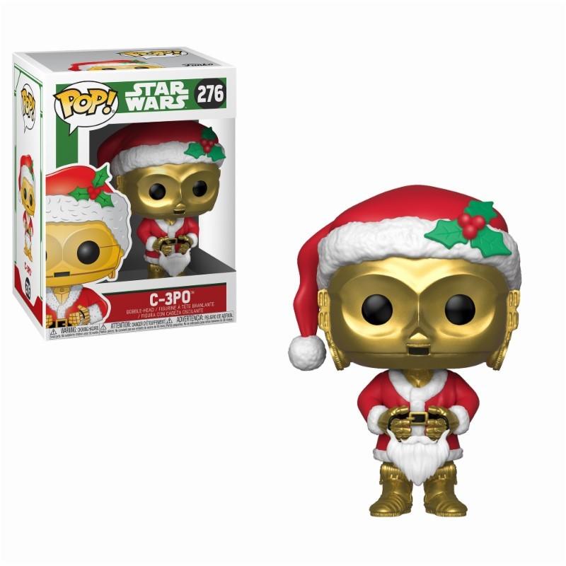 C-3PO Santa Claus Navidad POP Funko