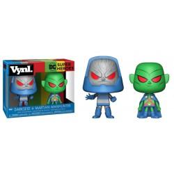 Pack DC Comics Martian Manhunter y Darkseid Funko VYNL