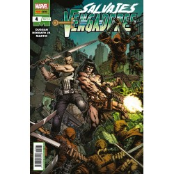 Salvajes Vengadores 4 Panini Comics Marvel