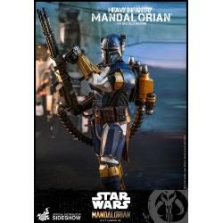 Figura Mandalorian heavy Infantry Hot Toys Star Wars Comprar Infanteria Pesada