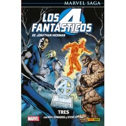 copy of Los 4 Fantásticos de Jonathan Hickman 3. Resolverlo Todo (Marvel Saga 96)