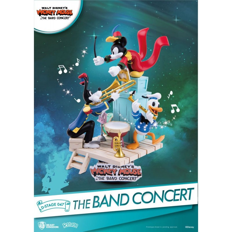 Diorama Disney Mickey Mouse The Band Concert Beast Kingdom