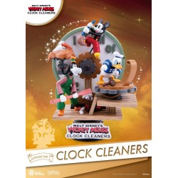 Diorama Disney Mickey Mouse Clock Cleaners Beast Kingdom