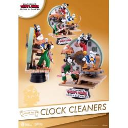 Diorama Disney Mickey Mouse Clock Cleaners Beast Kingdom