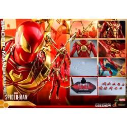 Figura Iron Spider Videojuego Spiderman Hot Toys
