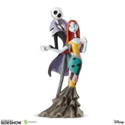 Estatua Jack y Sally Pesadilla Antes de Navidad Sideshow