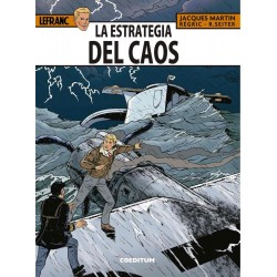 Comic Lefranc 29 La Estrategia del Caos Coeditum