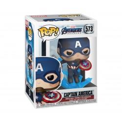 Capitán América Escudo y Mjolnir Vengadores Endgame POP Funko 573
