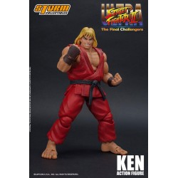 Figura Ken Ultra Street Fighter II Storm Collectibles