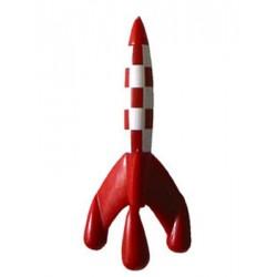 Cohete Tintín PVC 8,5 cm