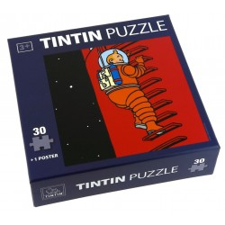 Puzzle Tintín. Modelo Luna - Escalera
