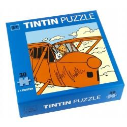 Puzzle Tintín. Modelo Avión