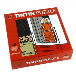 Puzzle Tintín. Modelo Luna - Puerta