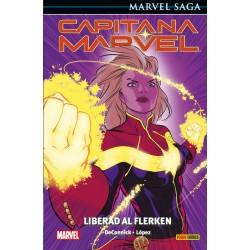Capitana Marvel 5. Liberad...