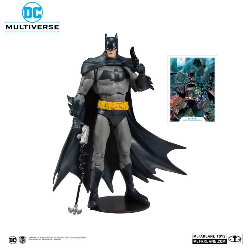 Figura Batman DC Rebirth Modern Detective Comics 1000 McFarlane Multiverse DC Comics