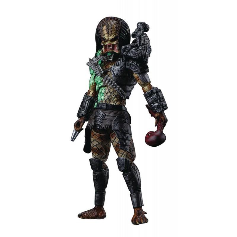 Figura Predator Battle Damage Jungle Predator Previews Exclusive Hiya